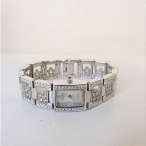 Victoria Wieck Floating Crystal Ice Watch